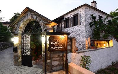 Traditional stone mansion with swimming pool in Argalasti
