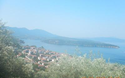 Land plot with fantastic sea view in Milina