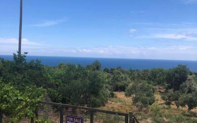 Land plot with fantastic sea view in Melani