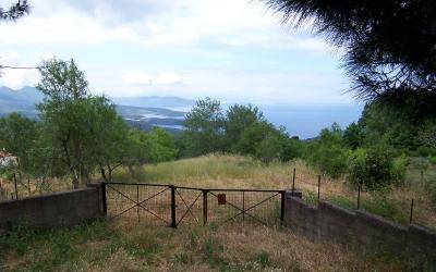 Buildable plot with open sea view