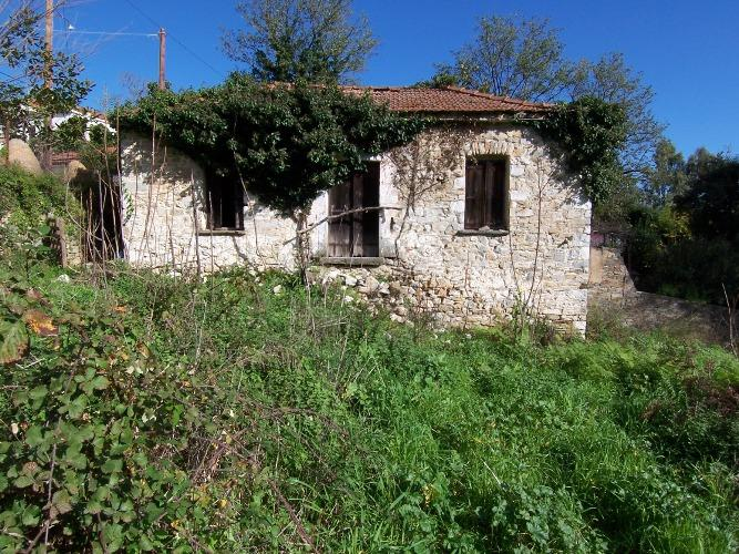 Traditional old stone house in Kallithea