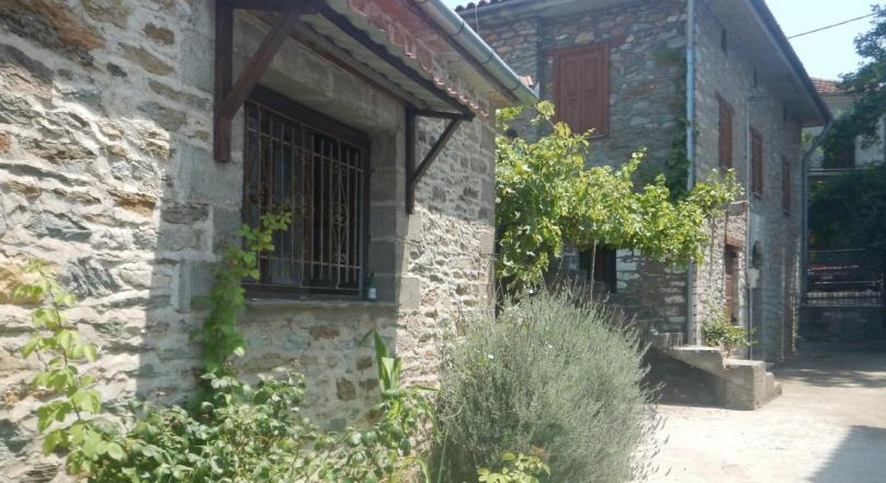 Two storey stone house in the centre of Argalasti Village